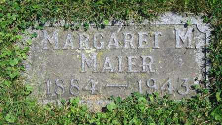 MAIER, MARGARET M. - Clark County, Ohio | MARGARET M. MAIER - Ohio Gravestone Photos