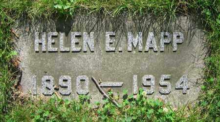 MAPP, HELEN E. - Clark County, Ohio | HELEN E. MAPP - Ohio Gravestone Photos
