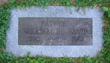 MAPP, WILLIAM R. - Clark County, Ohio | WILLIAM R. MAPP - Ohio Gravestone Photos