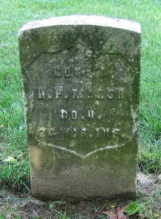 MARSH, H.F. - Clark County, Ohio | H.F. MARSH - Ohio Gravestone Photos