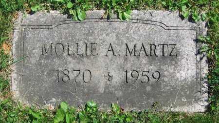 MARTZ, MOLLIE A. - Clark County, Ohio | MOLLIE A. MARTZ - Ohio Gravestone Photos