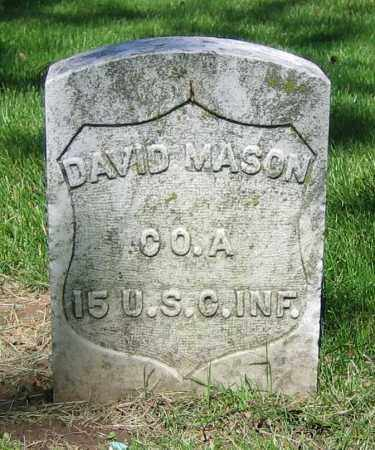 MASON, DAVID - Clark County, Ohio | DAVID MASON - Ohio Gravestone Photos