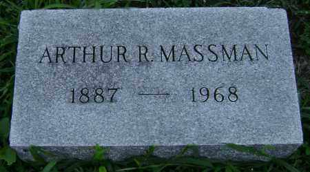 R. MASSMAN, ARTHUR - Clark County, Ohio | ARTHUR R. MASSMAN - Ohio Gravestone Photos