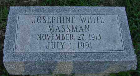WHITE MASSMAN, JOSEPHINE - Clark County, Ohio | JOSEPHINE WHITE MASSMAN - Ohio Gravestone Photos