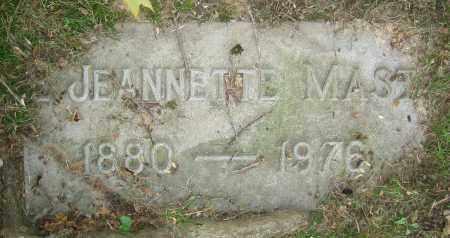 MAST, JEANNETTE - Clark County, Ohio | JEANNETTE MAST - Ohio Gravestone Photos