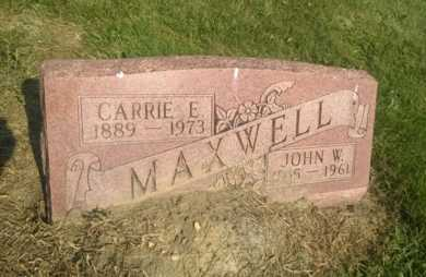 MAXWELL, CARRIE E. - Clark County, Ohio | CARRIE E. MAXWELL - Ohio Gravestone Photos