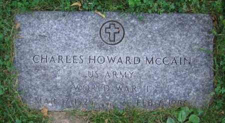 MCCAIN, CHARLES HOWARD - Clark County, Ohio | CHARLES HOWARD MCCAIN - Ohio Gravestone Photos