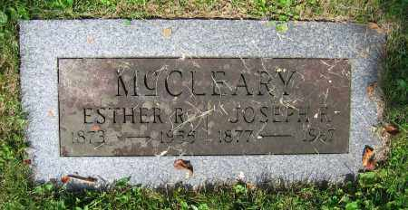 MCCLEARY, ESTHER R. - Clark County, Ohio | ESTHER R. MCCLEARY - Ohio Gravestone Photos