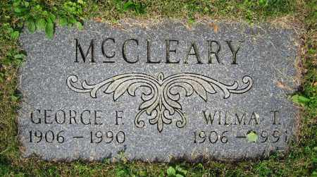 MCCLEARY, WILMA T. - Clark County, Ohio | WILMA T. MCCLEARY - Ohio Gravestone Photos