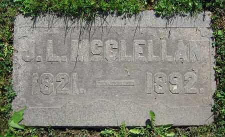 MCCLELLAN, J.L. - Clark County, Ohio | J.L. MCCLELLAN - Ohio Gravestone Photos