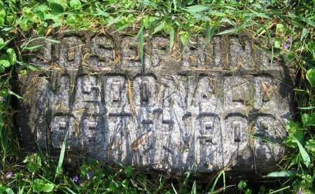 MCDONALD, JOSEPHINE - Clark County, Ohio | JOSEPHINE MCDONALD - Ohio Gravestone Photos