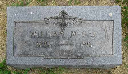 MCGEE, WILLIAM - Clark County, Ohio | WILLIAM MCGEE - Ohio Gravestone Photos