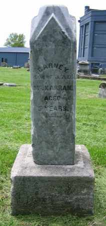 MCKARRAN, BARNEY - Clark County, Ohio | BARNEY MCKARRAN - Ohio Gravestone Photos
