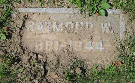 MCKINNEY, RAYMOND W. - Clark County, Ohio | RAYMOND W. MCKINNEY - Ohio Gravestone Photos