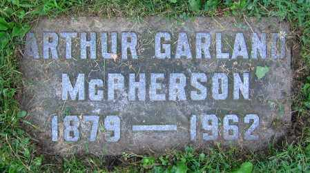 MCPHERSON, ARTHUR GARLAND - Clark County, Ohio | ARTHUR GARLAND MCPHERSON - Ohio Gravestone Photos