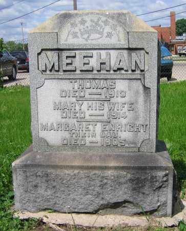 MEEHAN, MARY - Clark County, Ohio | MARY MEEHAN - Ohio Gravestone Photos