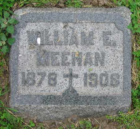 MEEHAN, WILLIAM E. - Clark County, Ohio | WILLIAM E. MEEHAN - Ohio Gravestone Photos