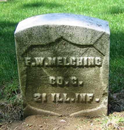 MELCHING, F.W. - Clark County, Ohio | F.W. MELCHING - Ohio Gravestone Photos