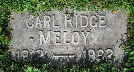 MELOY, CARL RIDGE - Clark County, Ohio | CARL RIDGE MELOY - Ohio Gravestone Photos