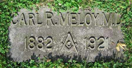 MELOY, CARL R.  M.D. - Clark County, Ohio | CARL R.  M.D. MELOY - Ohio Gravestone Photos