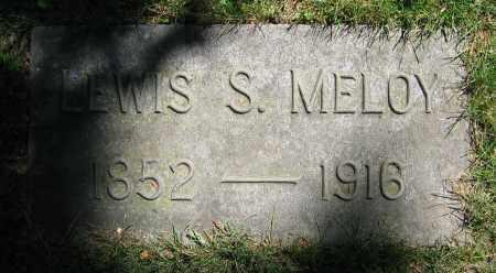 MELOY, LEWIS S. - Clark County, Ohio | LEWIS S. MELOY - Ohio Gravestone Photos