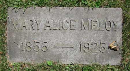 MELOY, MARY ALICE - Clark County, Ohio | MARY ALICE MELOY - Ohio Gravestone Photos