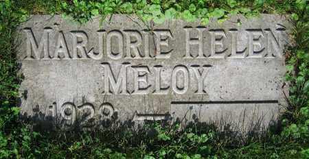 MELOY, MARJORIE HELEN - Clark County, Ohio | MARJORIE HELEN MELOY - Ohio Gravestone Photos