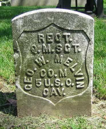 MELVIN, GEO. W. - Clark County, Ohio | GEO. W. MELVIN - Ohio Gravestone Photos