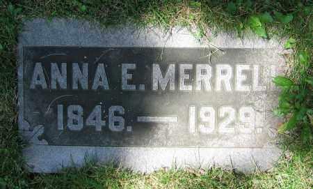 MERRELL, ANNA E. - Clark County, Ohio | ANNA E. MERRELL - Ohio Gravestone Photos