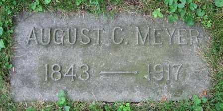 MEYER, AUGUST C. - Clark County, Ohio | AUGUST C. MEYER - Ohio Gravestone Photos