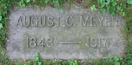 MEYER, AUGUST C. - Clark County, Ohio | AUGUST C. MEYER - Ohio Gravestone Photos