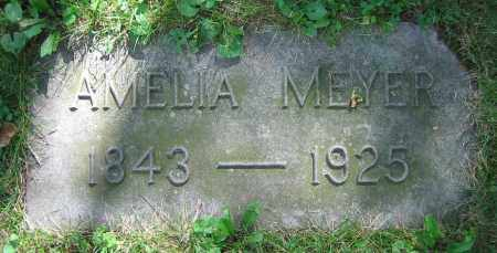MEYER, AMELIA - Clark County, Ohio | AMELIA MEYER - Ohio Gravestone Photos