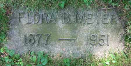 MEYER, FLORA B. - Clark County, Ohio | FLORA B. MEYER - Ohio Gravestone Photos