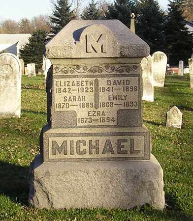 MICHAEL, ELIZABETH - Clark County, Ohio | ELIZABETH MICHAEL - Ohio Gravestone Photos
