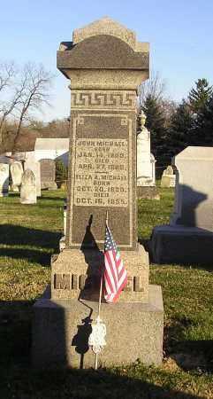 MICHAEL, JOHN - Clark County, Ohio | JOHN MICHAEL - Ohio Gravestone Photos