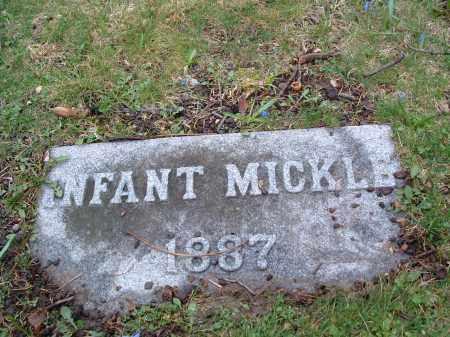 MICKLE, INFANT - Clark County, Ohio | INFANT MICKLE - Ohio Gravestone Photos