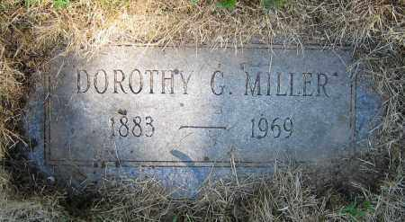 MILLER, DOROTHY G. - Clark County, Ohio | DOROTHY G. MILLER - Ohio Gravestone Photos
