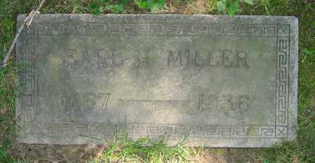 MILLER, EARL N. - Clark County, Ohio | EARL N. MILLER - Ohio Gravestone Photos