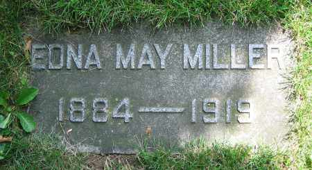 MILLER, EDNA MAY - Clark County, Ohio | EDNA MAY MILLER - Ohio Gravestone Photos