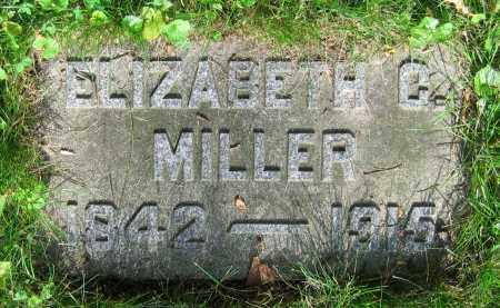 MILLER, ELIZABETH G. - Clark County, Ohio | ELIZABETH G. MILLER - Ohio Gravestone Photos