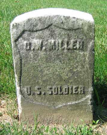 MILLER, G.W. - Clark County, Ohio | G.W. MILLER - Ohio Gravestone Photos