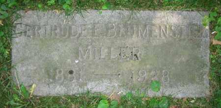 MILLER, GERTRUDE E. - Clark County, Ohio | GERTRUDE E. MILLER - Ohio Gravestone Photos