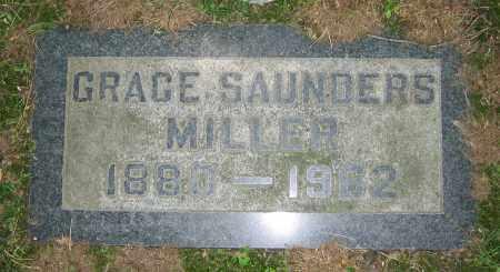 SAUNDERS MILLER, GRACE - Clark County, Ohio | GRACE SAUNDERS MILLER - Ohio Gravestone Photos
