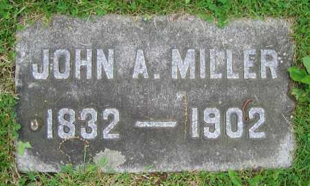 MILLER, JOHN A. - Clark County, Ohio | JOHN A. MILLER - Ohio Gravestone Photos
