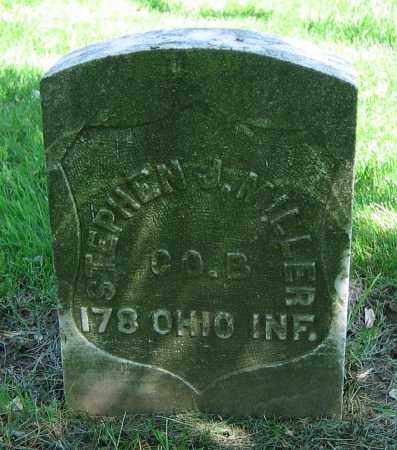 MILLER, STEPHEN J. - Clark County, Ohio | STEPHEN J. MILLER - Ohio Gravestone Photos