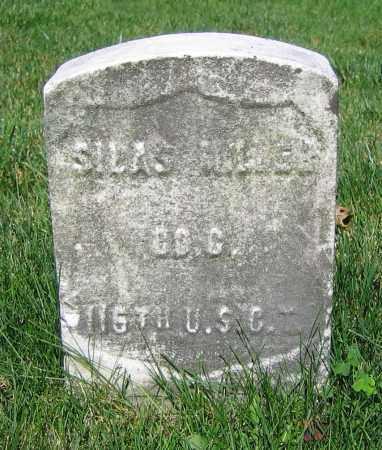 MILLER, SILAS - Clark County, Ohio | SILAS MILLER - Ohio Gravestone Photos