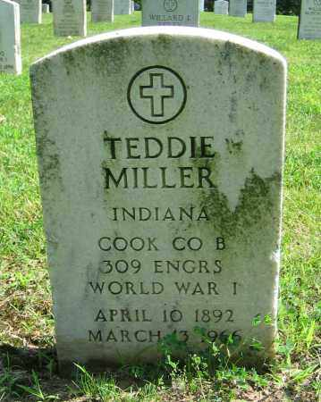 MILLER, TEDDIE - Clark County, Ohio | TEDDIE MILLER - Ohio Gravestone Photos