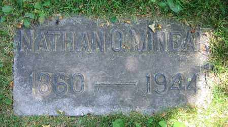 MINEAR, NATHAN O. - Clark County, Ohio | NATHAN O. MINEAR - Ohio Gravestone Photos