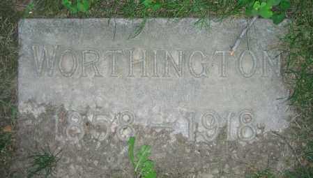 MONROE, WORTHINGTON - Clark County, Ohio | WORTHINGTON MONROE - Ohio Gravestone Photos