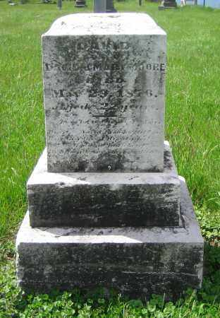 MOORE, DAVID - Clark County, Ohio | DAVID MOORE - Ohio Gravestone Photos